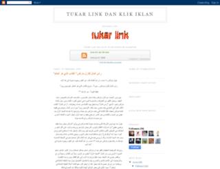 tukar-link-dan-klik-iklan.blogspot.com screenshot