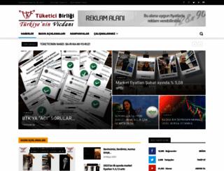 tuketici.org.tr screenshot