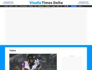 tulareadvanceregister.com screenshot
