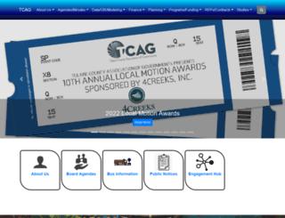 tularecog.org screenshot