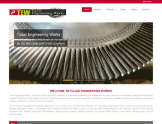 tulasiengineeringworks.com screenshot