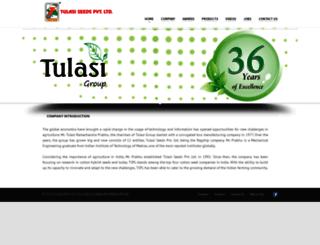 tulasiseeds.com screenshot