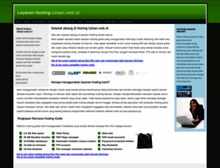 tulisan.web.id screenshot
