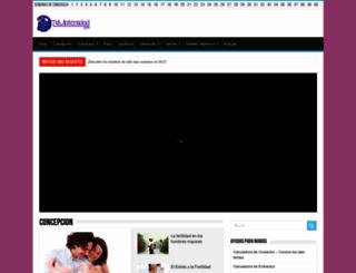 tumaternidad.com screenshot