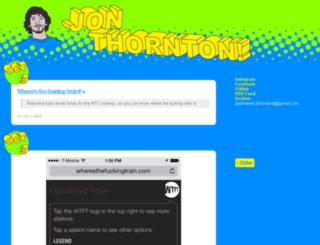 tumblr.jonthornton.com screenshot