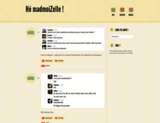 tumblr.madmoizelle.com screenshot