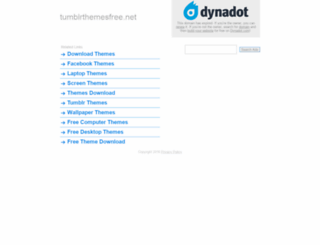 tumblrthemesfree.net screenshot