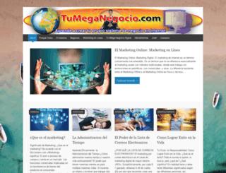 tumeganegocio.com screenshot