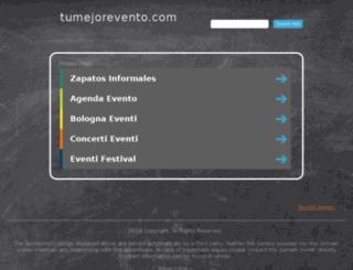 tumejorevento.com screenshot