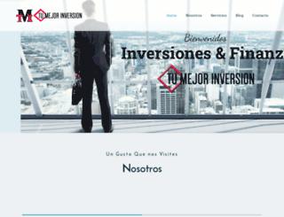 tumejorinversion.com screenshot