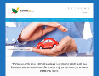 tumejorpoliza.com screenshot