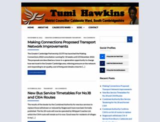 tumihawkins.org.uk screenshot