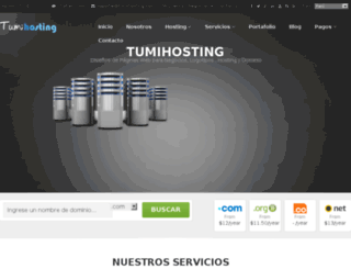 tumihosting.com screenshot