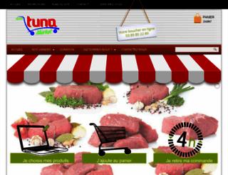 tuna-market.fr screenshot