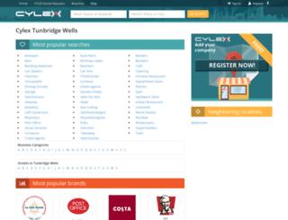 tunbridge-wells.cylex-uk.co.uk screenshot