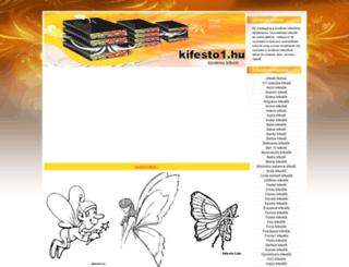 tunderes-kifesto.kifesto1.hu screenshot