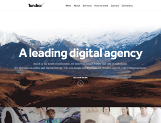 tundra.com.au screenshot
