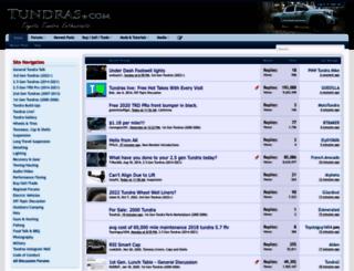 tundras.com screenshot