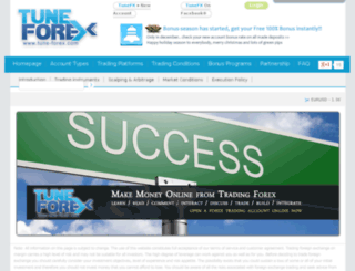 tune-forex.com screenshot