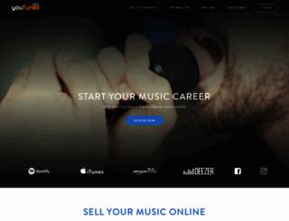 tunebox.net screenshot