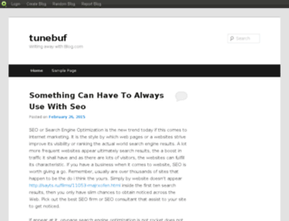 tunebuf.blog.com screenshot
