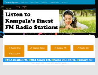 tunein-ug.com screenshot