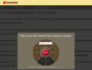 tuneries.com screenshot