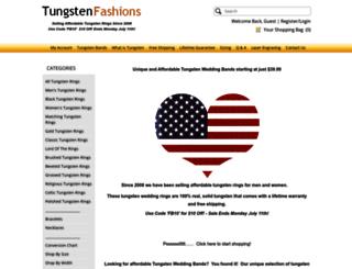 tungstenfashions.com screenshot