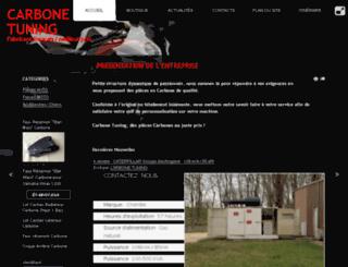 tuning-carbone.com screenshot
