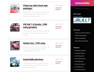 tuning-in.eu screenshot