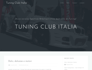 tuningclubitalia.it screenshot