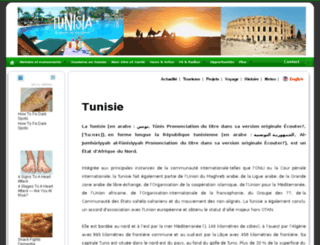 tunisia-services.com screenshot