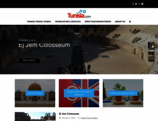 tunisia.com screenshot