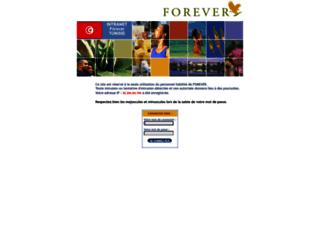 tunisie.foreverliving.fr screenshot