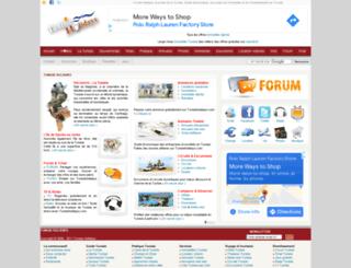 tunisieholidays.com screenshot