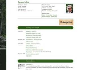 tuomas.salste.net screenshot