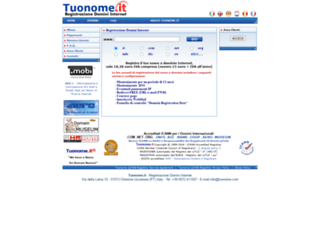 tuonome.com screenshot