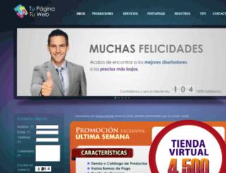 tupaginatuweb.com screenshot