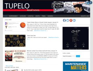 tupelolocalnews.com screenshot