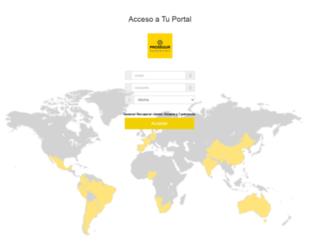 tuportal.prosegur.com screenshot