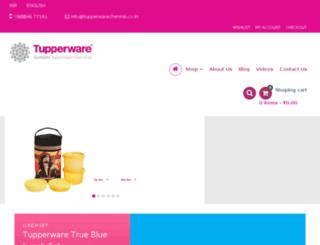 tupperwarechennai.co.in screenshot