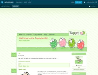 tuppy-com.livejournal.com screenshot