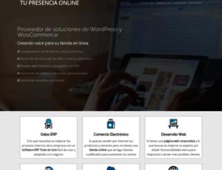 tupresenciaonline.com screenshot