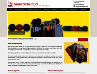 turakhiatextiles.com screenshot