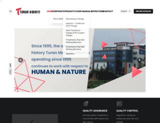 turanmak.com screenshot
