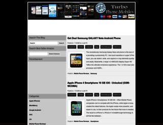 turbo-phonemobile.blogspot.in screenshot