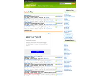 turbo.brothersoft.com screenshot