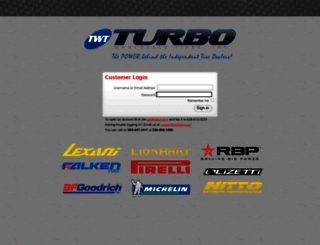 turbo.tireweb.com screenshot