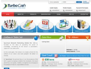 turbocash.co.in screenshot