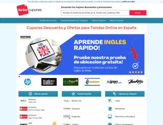 turbocupones.com screenshot